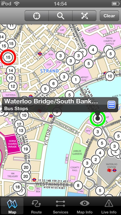 London Bus - Map and route planner by Zuti screenshot-3