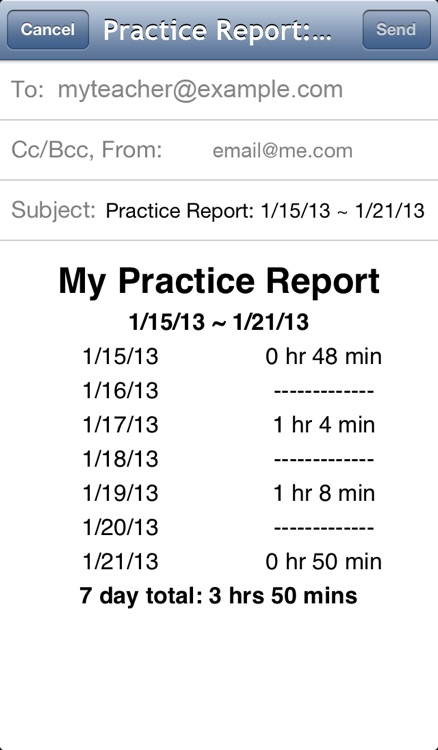 Sound Practicing - Music Practice Motivator screenshot-4
