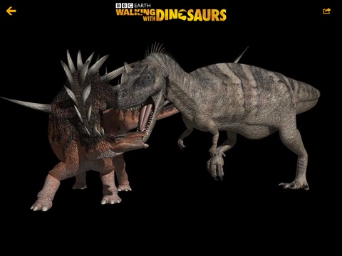 Walking with Dinosaurs: Inside their World Screenshot