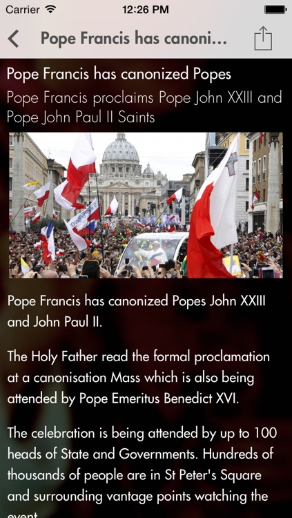 Pope John Paul II: The official App screenshot-3