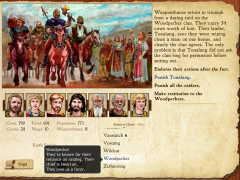 King of Dragon Pass на iPad