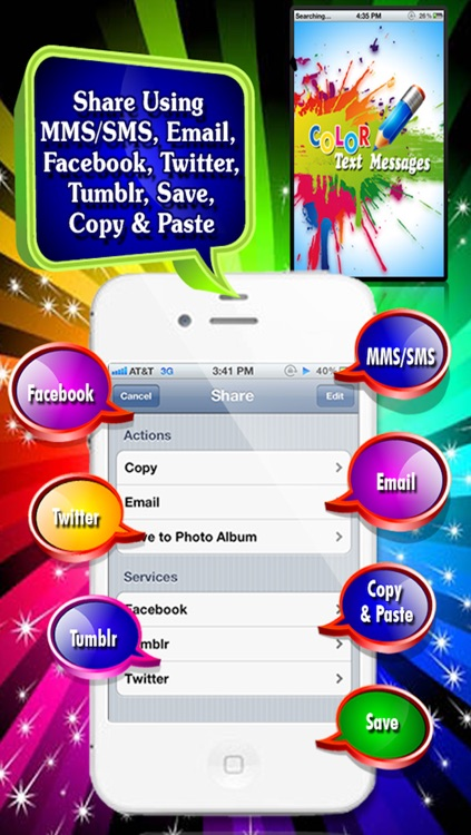 Color Text Messages screenshot-4
