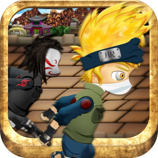 Konoha Temple Adventure - Brave Little Ninja Run icon