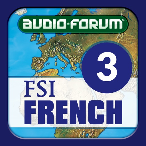 French Basic Course Advanced A (Level 3) -  by Audio-Forum / Foreign Service Institute icon