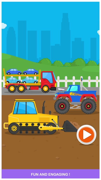 Peekaboo Trucks Cars and Things That Go for Kids screenshot-4