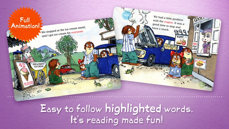 The Trip Little Critter Reading Adventure Lite screenshot-3