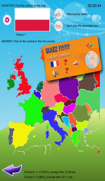 Kids Country Quiz screenshot-3