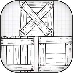A Scribble Crate Sliding Puzzle Challenge - Move the Doodle Crates Mania Free