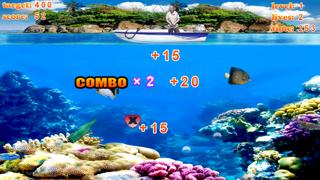 Crazy Finger Fishing Free screenshot one