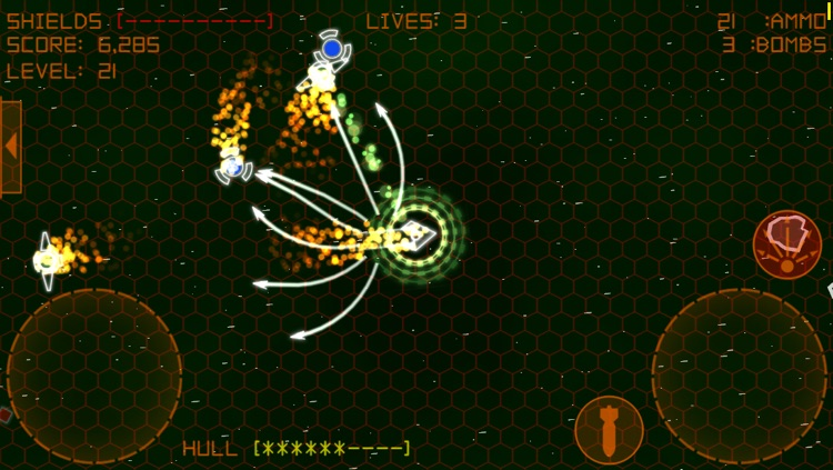 Alien Space Retro screenshot-1