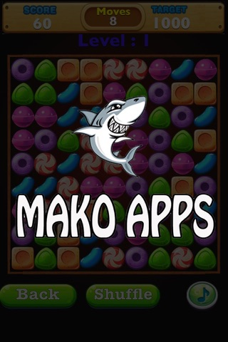 A Candy Crunch Match Three Puzzle Deluxe - náhled