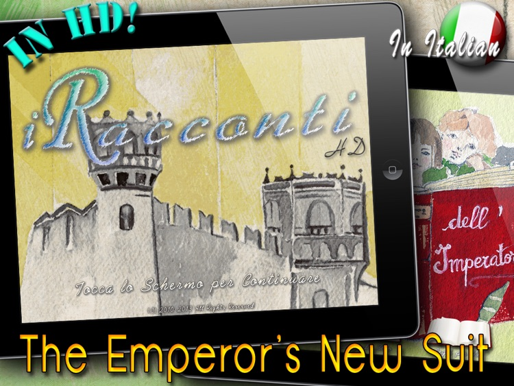 iRacconti HD (in Italian)