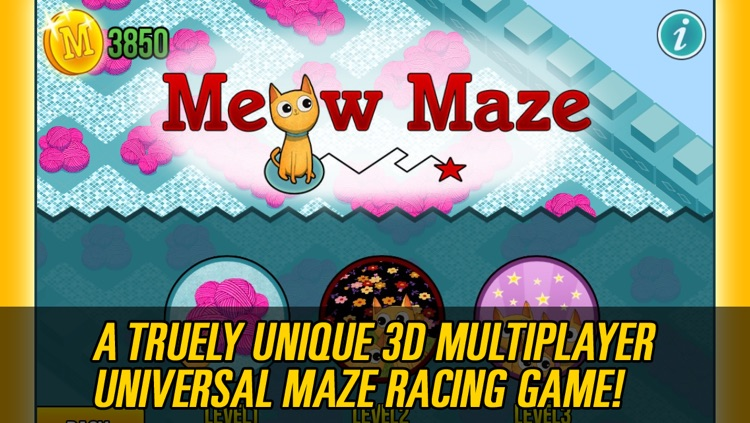 Meow Maze 3d Live Multiplayer Racing Pro