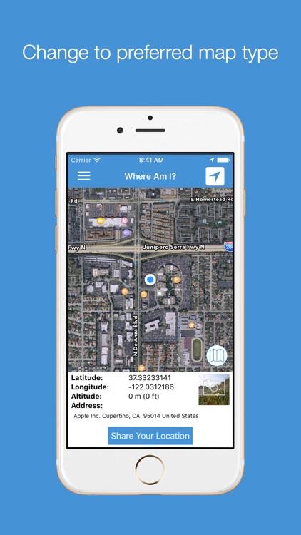 WhereAmI : Share My Location screenshot-3