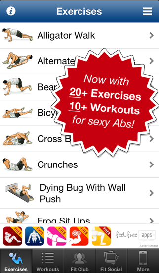 Ab Workouts Free