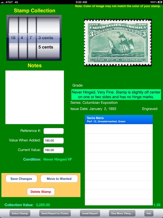 U.S. Postage Stamps--First 100 Years screenshot-3