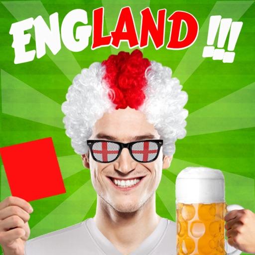 Selfie - England fan edition