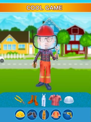 Dress Up Builder Bill - Fun Kids Game-ipad-1
