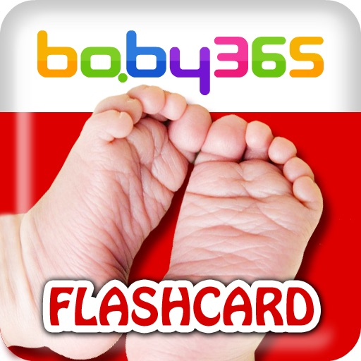 baby365-bilingual flash cards-Body parts icon