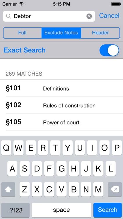 U.S.C. Title 11 - Bankruptcy Code