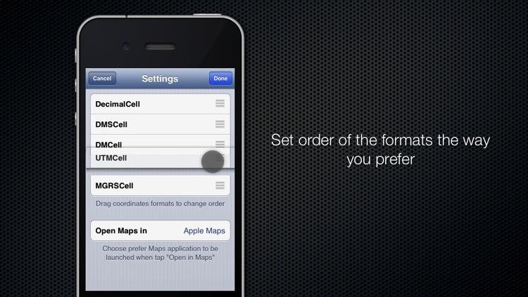 Coordinates Converter Free screenshot-4
