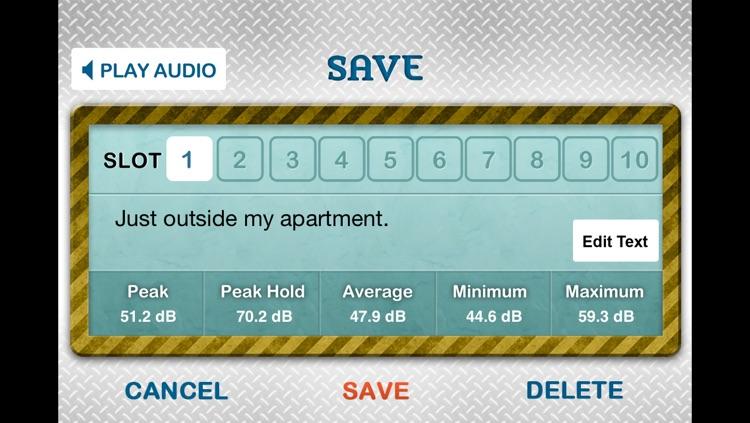 Sound Meter Pro screenshot-4