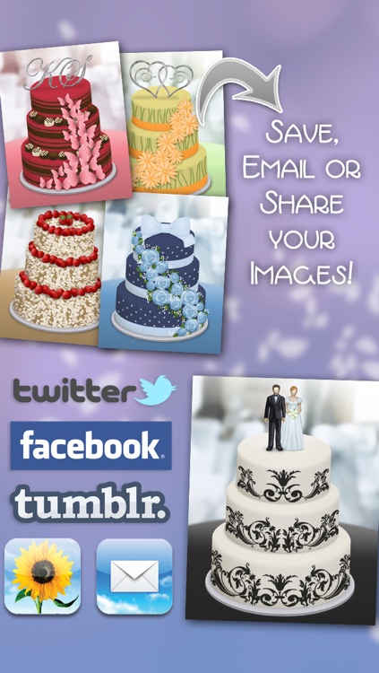 CreateShake: Wedding Cake Designer screenshot-3