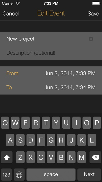 Time Left  - Quickly create one-time reminders on your iPhone, iPad or iPod Touch. HD Free screenshot-3