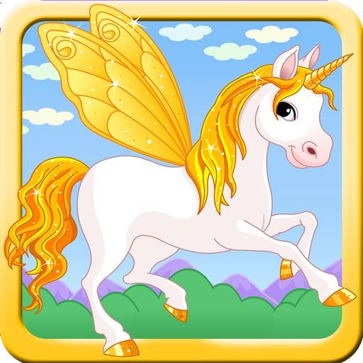 A Fairy Pony - Little Unicorn & My Magic Adventure - Free Racing Game icon