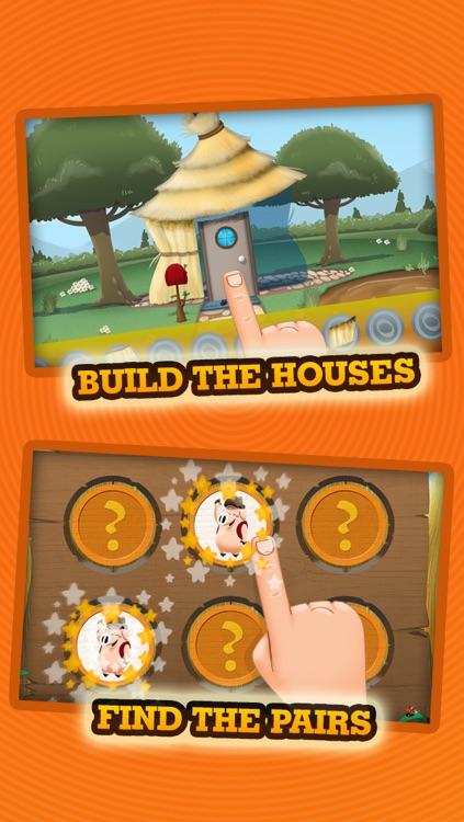 Three Little Pigs - Story & Games screenshot-3