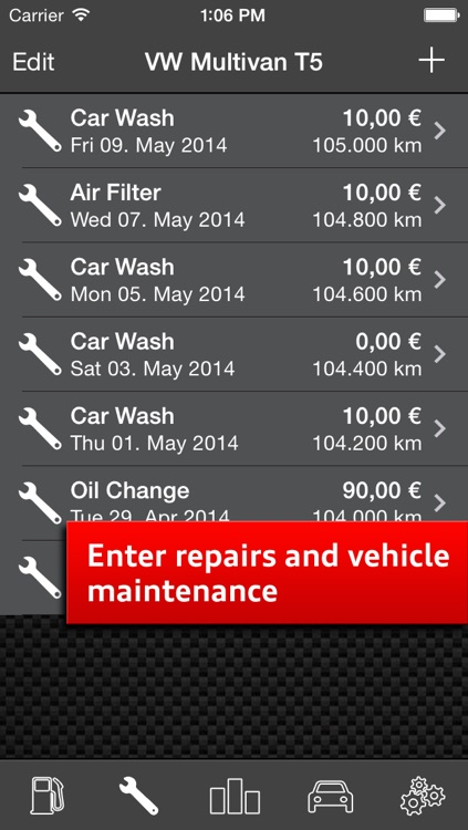 Car Log Ultimate Free - Car Maintenance and Gas Log, Auto Care, Service Reminders