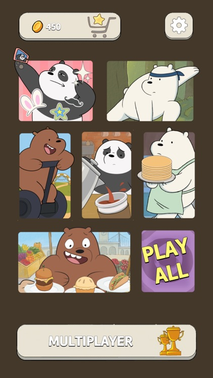 Free Fur All – We Bare Bears Minigame Collection screenshot-4