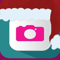 Emoji Xmas Card Photo Creator Studio
