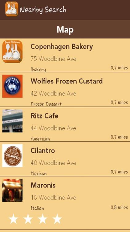 Restaurant Locator App