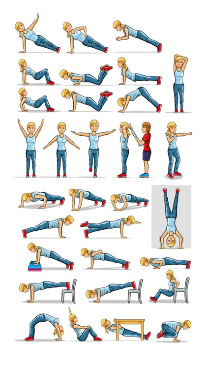 Arm Exercises - Personal Trainer for Arms Workouts