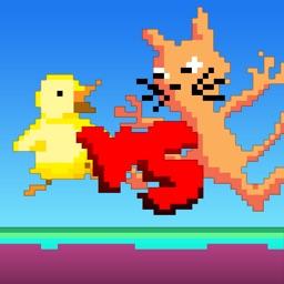 Duck vs Cats