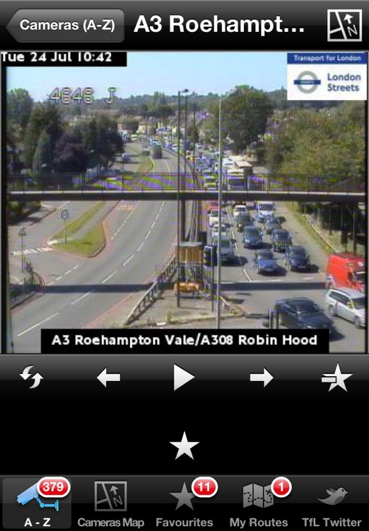 London JamCams - see road congestion live