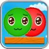 红球与绿球-有礼赠送首次上架(超越愤怒小鸟的物理引擎游戏?)