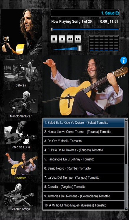 Masters of Flamenco  (5 Maestros over 100 Compositions) screenshot-3