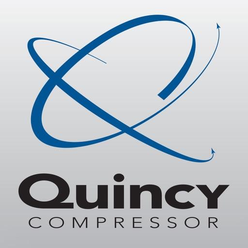 Quincy Compressor Flow Rate App by Rokusek Design