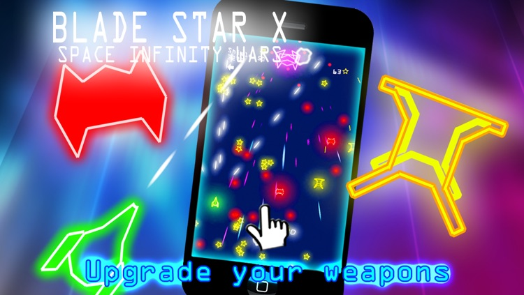 Blade Star X : Space Infinity War - by Cobalt Play 8 Bit Games
