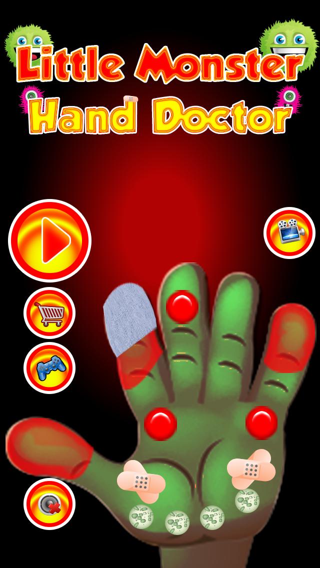 Little Monster Hand Doctor - Kids Games