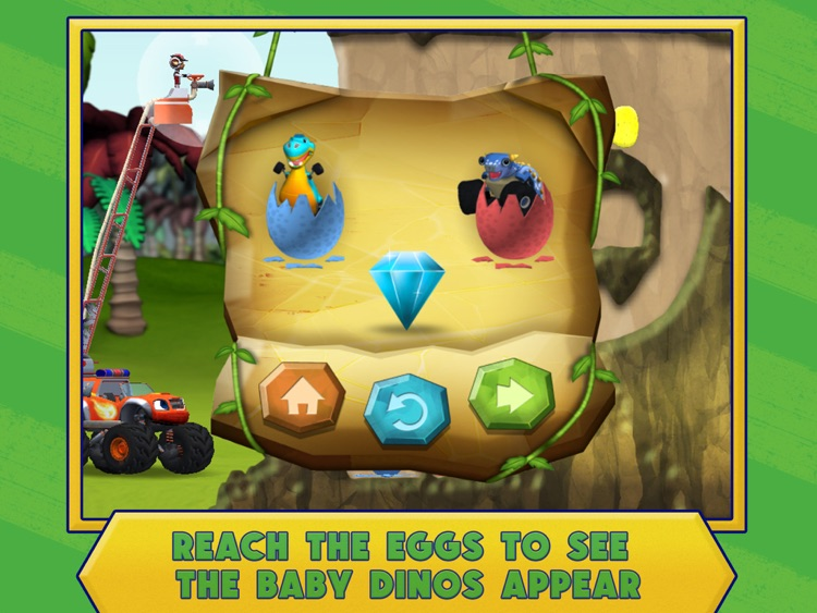 Blaze and the Monster Machines Dinosaur Rescue HD screenshot-4