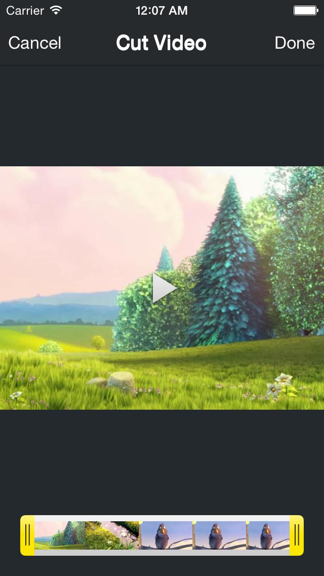 Video Titles - Add Titles & text to Video & video editor screenshot three