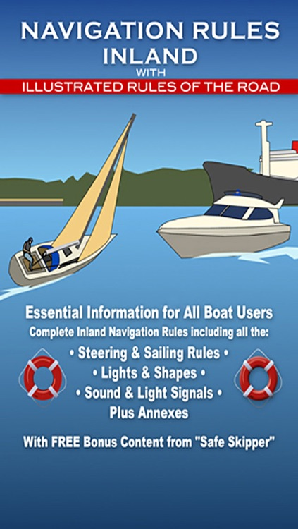 Navigation Rules Inland - for Boating & Sailing
