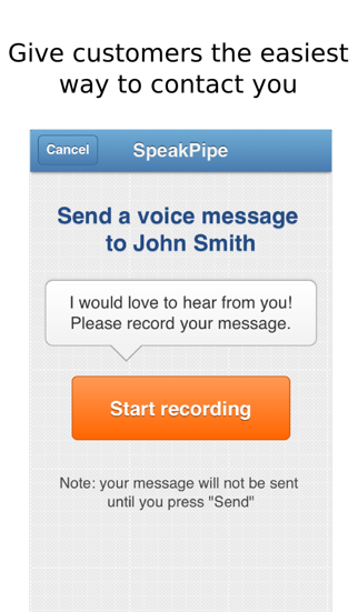 download SpeakPipe apps 3