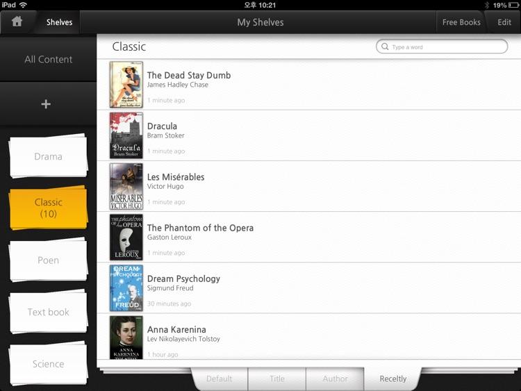 BooC ebook reader - Get & Read free books via Dropbox, Google Drive, Sky Drive and Web