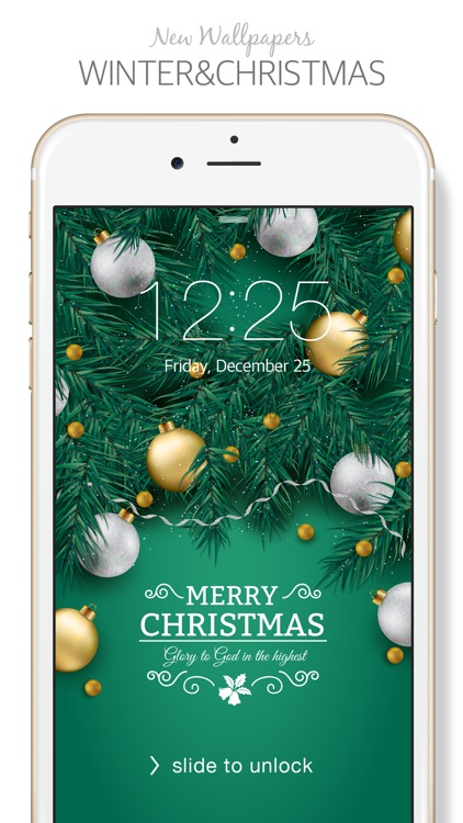 Winter & Christmas ( New Wallpaper & Backgrounds Themes ) screenshot-0