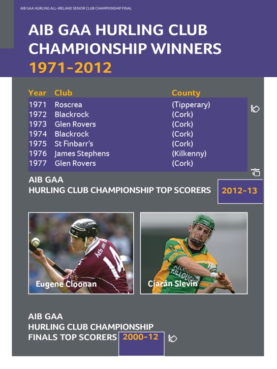 GAA Official Matchday Programmes screenshot-2
