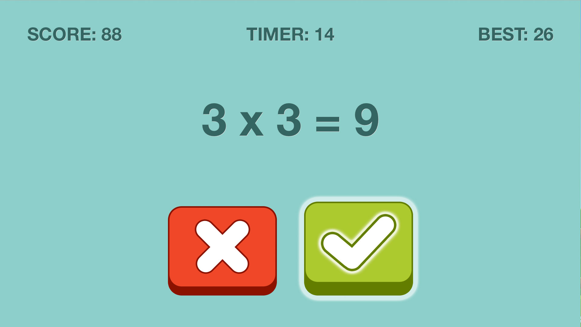 Quick Checkers Math Puzzle screenshot 4